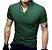 Kit com 5 - Camisa / Camiseta Masculina - Gola Padre - Imagem 7