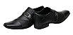 Sapato Masculino Social em Couro Trabalhado - Imagem 3