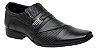 Sapato Masculino Social em Couro Trabalhado - Imagem 1