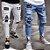 Calça Jeans Masculina Destroyed Skinny Patch - Imagem 1