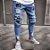 Calça Jeans Masculina Destroyed Skinny Patch - Imagem 2
