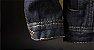 Jaqueta Jeans Masculina Preta Forrada - Imagem 7