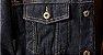 Jaqueta Jeans Masculina Preta Forrada - Imagem 6