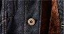 Jaqueta Jeans Masculina Preta Forrada - Imagem 4