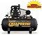 Compressor De AR Profissional 20 Pés 200 Litros - Trifásico - Imagem 1