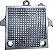 Placa Separadora de Alumínio para Filtro Prensa - 9 X 9 com 2 Furos - Imagem 1