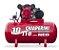 Compressor de ar média pressão 10 pés 110 litros Trifasico - Imagem 1