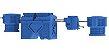 Sistema Separador de Água e Óleo 2000 L/H - Imagem 1