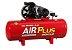 Compressor Air Plus CSL 20 Pés 150L 5HP 140PSI 220/380V Trifásico - SCHULZ - Imagem 1