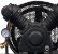 Compressor de Ar Sobre Base 10 Pés sem Motor - CHIAPERINI - Imagem 3