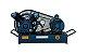 Compressor de Baixa Pressão sobre Base CJ5.2 BPV 5,2 Pés 120PSI 1HP 110/220V Mono - CHIAPERINI - Imagem 1