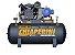 Compressor de Ar Monofásico 20PCM 200 Litros com Motor 5HP 220/440V IP55 Blindado - CHIAPERINI - Imagem 1