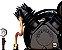 Compressor De Ar Alta Pressão Sobre Base CJ15 + APV 15 Pés 3HP 2P 175PSI 220/380V Trifásico - CHIAPERINI - Imagem 2
