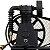 Compressor Profissional Média Pressão (140lbs)20 Pés 200 Litros - CHIAPERINI - Imagem 2