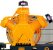 Compressor de Alta Pressão CJ40 AP3V 40 Pés 425L 175PSI sem Motor Intermitente - CHIAPERINI - Imagem 3