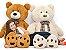 Urso de Pelúcia Harry 1,50cm - CORES DIVERSAS - Imagem 1