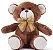 Urso de Pelúcia Xande 30cm - CORES DIVERSAS - Imagem 2