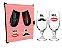 Dupla de Taças floripa na caixa MDF - Mr. Mrs.  - Imagem 1