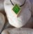 Colar aromático individual – Losangolo Verde - Imagem 1