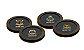 Jogo na caixa MDF com 4 canecos Bistrol + porta copos - Preto - Imagem 4