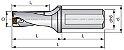 Broca Intercambiável para Inserto SC/XP 4xD - 804D Dormer Pramet - Imagem 2