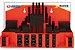 Jogo de presilhas dispositivo de fixação (Kit) c/ 58 pçs p/ mesa canal de 18mm p/fuso M16 com tratamento Mod:GR-16 - Imagem 5