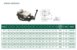 Morsa mecânica giratória c/ abertura de 200mm e largura dos mordentes de 160mm Mod:VD-675 - Imagem 1