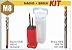 Kit Duo Pack com Macho M8 Máquina e Broca Ø6,8 - Dormer - Imagem 4