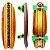 Skate Simulador De Surf Carving Gp Longboard Maori - Imagem 1