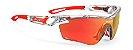 Óculos Rudy Project Tralyx Cristal Laranja Fluor - Imagem 1