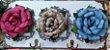 Cabideiro de Flores de Lata - Imagem 1