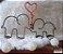 Tricotin Casal de elefantes - Imagem 1