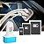FONTE VEICULAR COM ENTRADA USB TRIPLA COLORS 12-24V 2.1A 2.0A 1.0A  CORES VARIADAS - Imagem 2