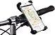SUPORTE UNIVERSAL DE CELULAR E GPS PARA BICICLETA COM ROTAÇÃO 360°  - Imagem 1