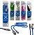 CABO USB CARGA E DADOS DE SILICONE PARA IPHONE LIGHTNING EXBOM CABO X CORES VARIADAS - Imagem 1