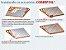 Manta térmica telhado Subcobertura Duas Faces 1m x 50m - COBERFOIL - Imagem 2