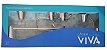 Kit para Banheiro Cromado 5 Peças - Imagem 1