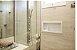 Nicho de banheiro plástico para Embutir - Branco - Imagem 2