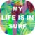 Camiseta Santo Swell My life is in the surf Estampada Manga Curta 4 Cores - Imagem 2