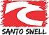 Camiseta Masculino Santo Swell Classico Logo Estampada Manga Curta 5 Cores - Imagem 2