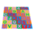 Tapete alfanumerico - EVA - 36 pc - Emb. c/ ziper - Imagem 2