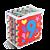 Tapete numerais e quant. c/ borda - EVA - 28pc - Emb.c/ziper - Imagem 3