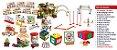 Brinquedo Educativo Kit Inclusão Com 16 Produtos Diversos Com 26 Itens - FUNDAMENTAL - Imagem 2