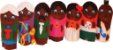 Dedoches Solapa Refil Familia Negra - Imagem 1