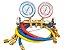 Manifold Ar Condicionado R22/r404/r134/r407 Manopla De Metal - Imagem 1