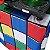 Capa Envelope Cubo Mágico para mesa dobrável - 122x61x84cm - Imagem 2