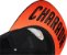 Boné preto / laranja aba reta com bordado Charada - Imagem 2