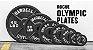 Anilha Olímpica de Ferro Rogue- Cor Preto - Peso 5lb (2,27kg) - Par - Imagem 1