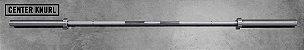 Barra Olímpica Masculina ROGUE OLY WL 28mm - Zinco Brilhante - 20kg - Imagem 6