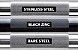 Barra Olímpica Masculina ROGUE POWER BAR 29mm - Black Zinc / Bright Zinc - 45LB  - Imagem 3